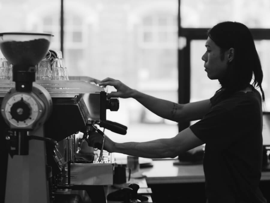 speciality coffee in london at lantana the aussie cafe
