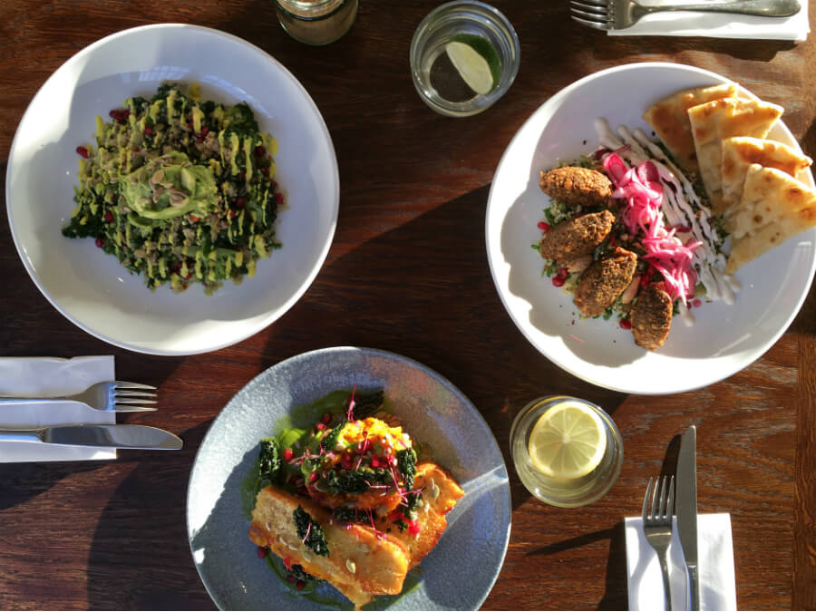 lunch and brunch at lantana cafe london