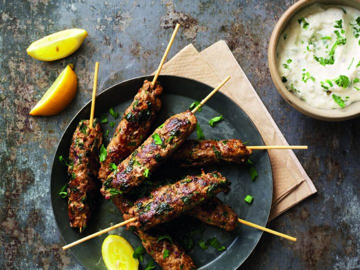 Lantana Lamb Koftes with Tahini Yogurt Dip