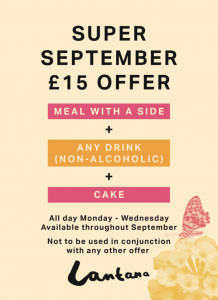 Super September Lantana offer